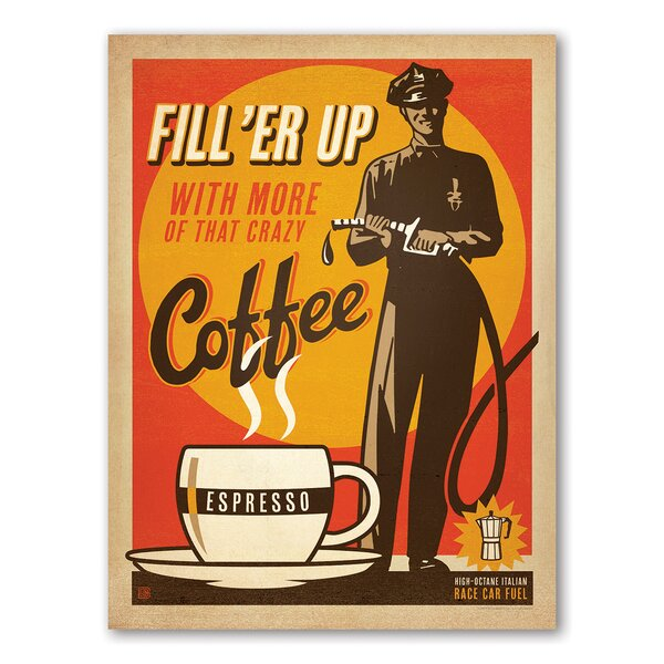 Filler up Vintage Advertisement by East Urban Home
