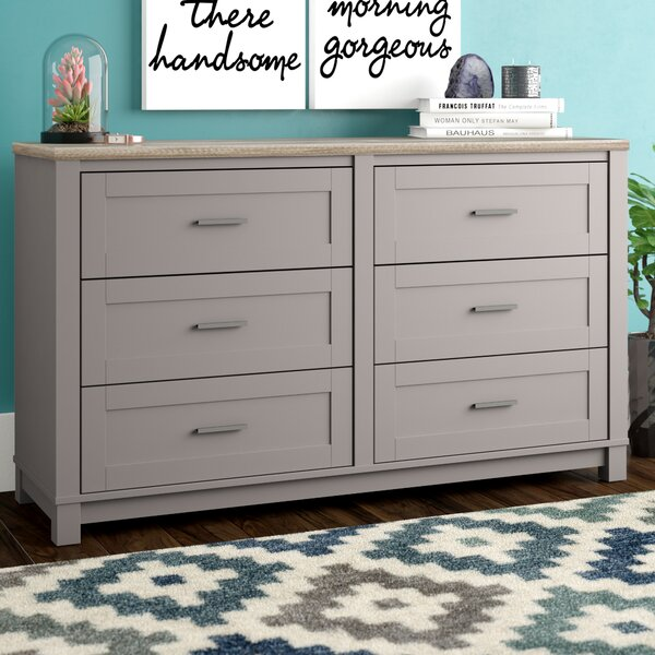 Callowhill 6 Drawer Double Dresser by Mercury Row