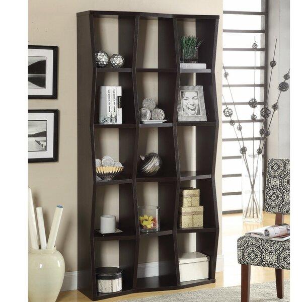 Voorhies Standard Bookcase by Latitude Run