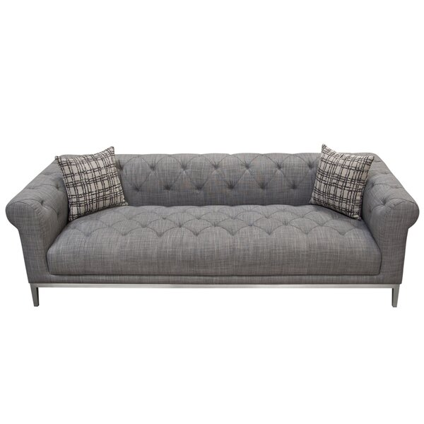Save Big With Monroe Chesterfield Sofa by Diamond Sofa by Diamond Sofa