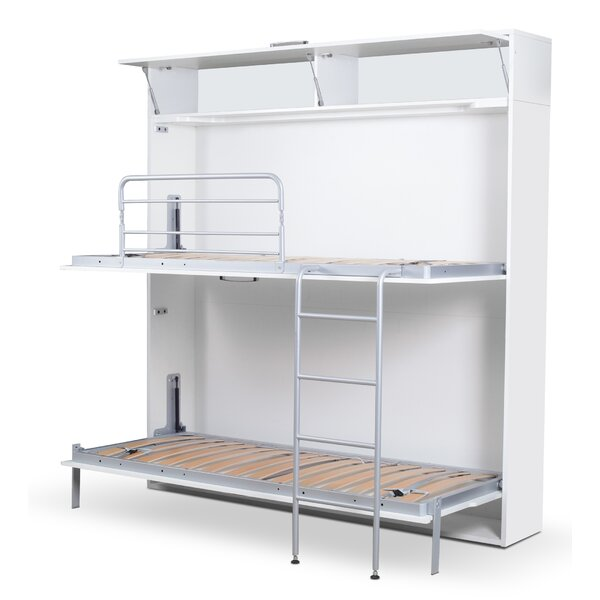 Sherlock Twin Bunk Bed with Mattress by Latitude Run