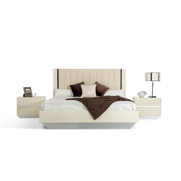 Decastro King Platform Bedroom Set (Set of 2) by Orren Ellis