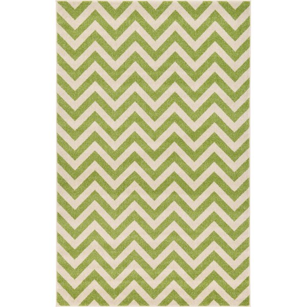 Del Rio Green Area Rug by Zipcode Design