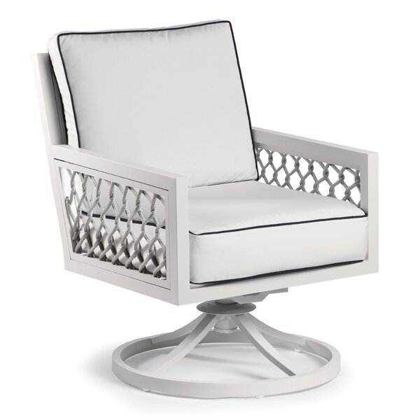 Echo Bay Swivel Patio Chair with Sunbrella Cushions by Eddie Bauer