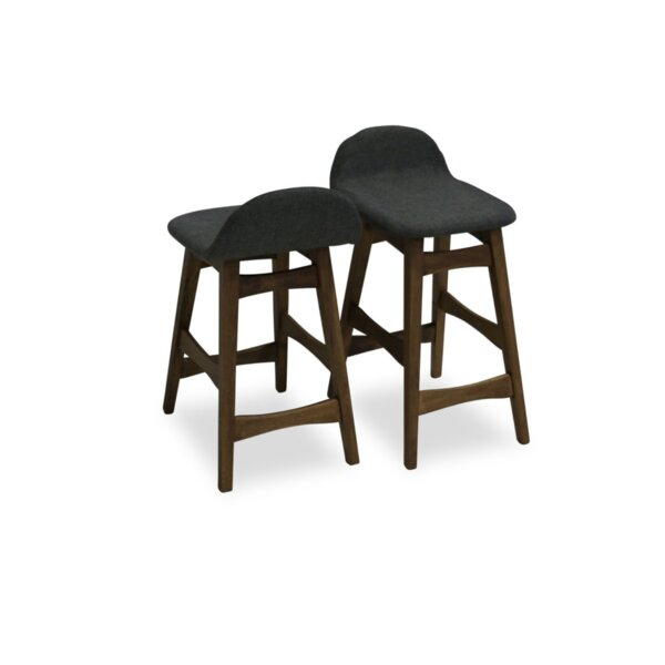 Amaral Counter Bar Stool (Set of 2) by Ivy Bronx
