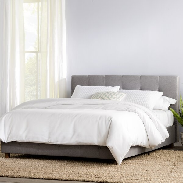 Amherst Upholstered Platform Bed by Andover Mills