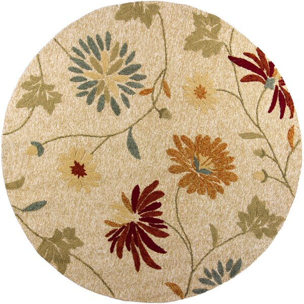Winsford Beige Sofia Indoor/Outdoor Area Rug by Alcott Hill
