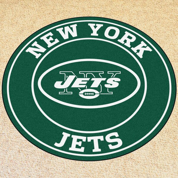NFL New York Jets Roundel Mat by FANMATS