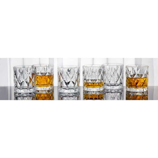 8 oz. Crystal Cocktail Glass (Set of 6) by Studio Silversmiths