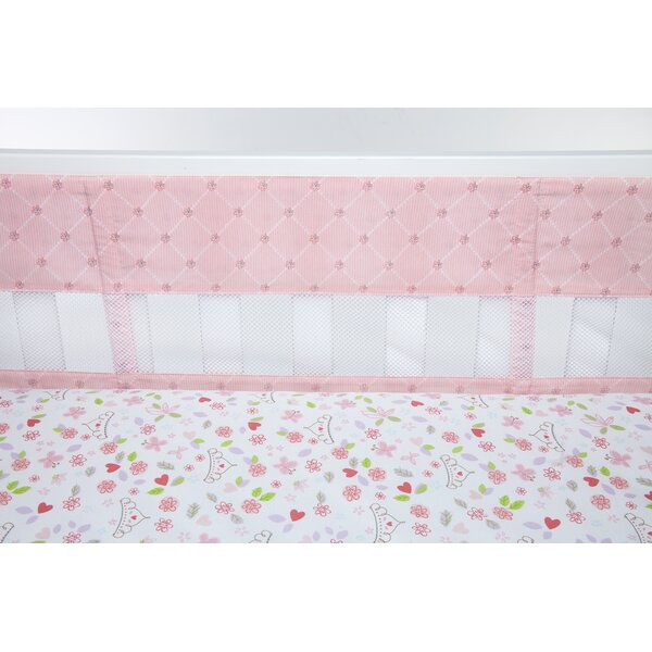 Princess Happily Ever After Secure-Me Crib Bumper Liner by Disney