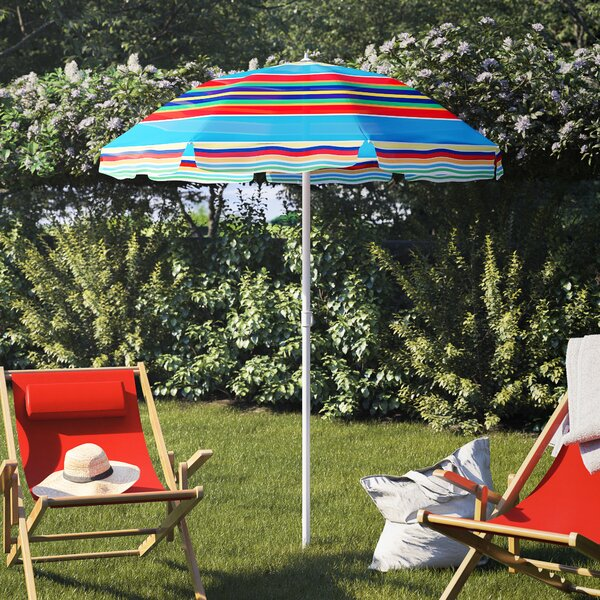 Auriville 5' Beach Umbrella by Freeport Park Freeport Park