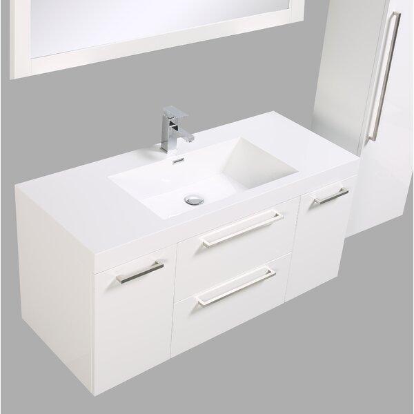Sandifer 48 Single Bathroom Vanity Set by Orren Ellis