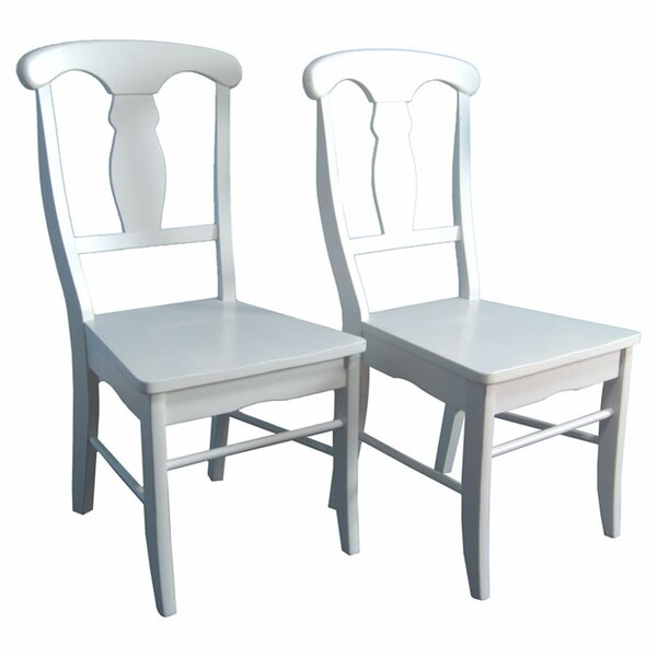 Empire Solid Wood Dining Chair (Set of 2) by TMS