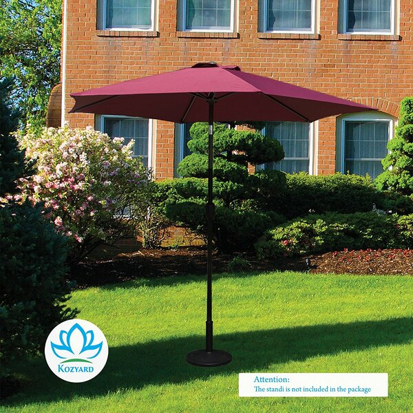 Keltner Patio Outdoor 9' Market Umbrella By Charlton Home by Charlton Home Coupon