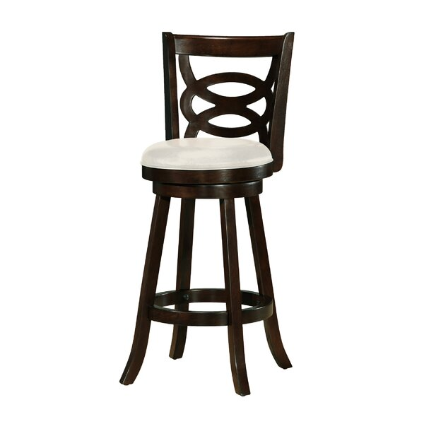 Alamo 29 Swivel Bar Stool (Set of 2) by Darby Home Co
