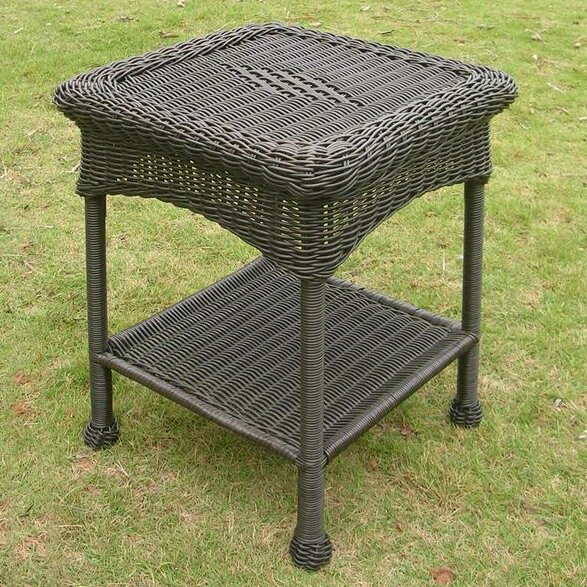 Staple Hill Wicker Side Table by Charlton Home