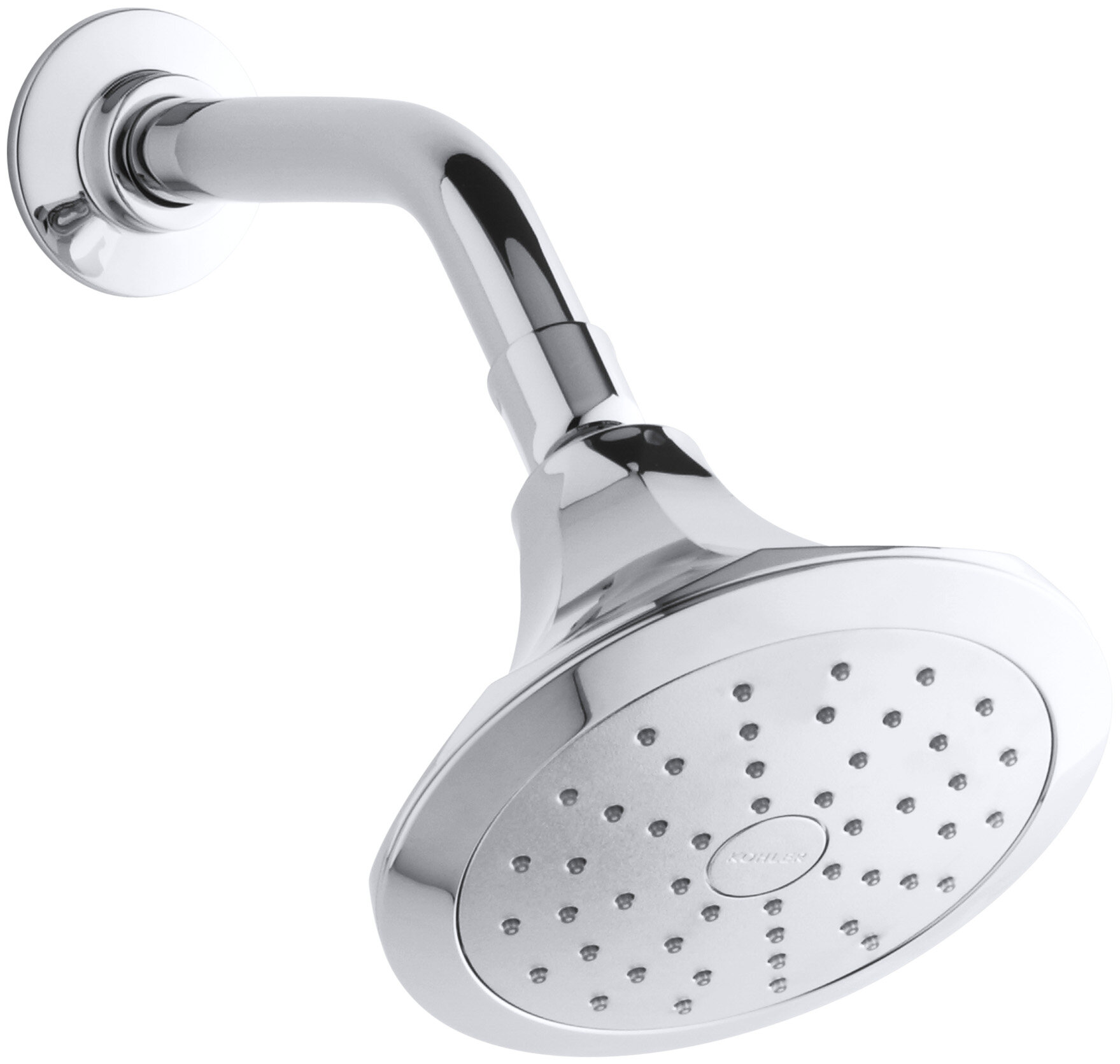 Memoirs Low Flow Shower Head With Katalyst Air Induction Spray