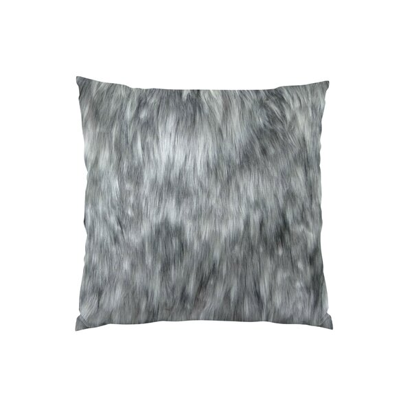 Wolf Handmade Throw Pillow by Plutus Brands