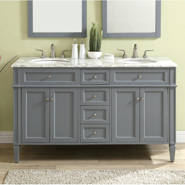 Bedonia 60 Double Bathroom Vanity Set by Darby Home Co