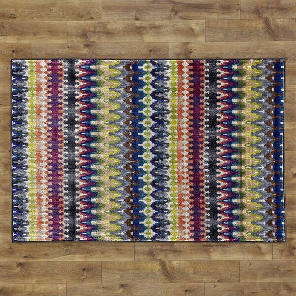 Arabian Hand-Woven Blue Area Rug by Birch Lane Kids™
