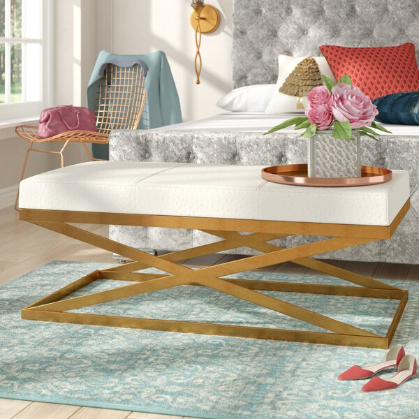 Milena Metal Bench by Willa Arlo Interiors