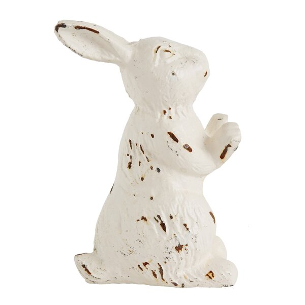 Quinto Cast Iron Rabbit Door Stopper by One Allium Way