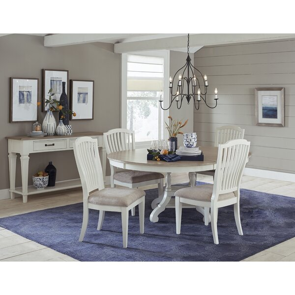 Fairfax 5 Piece Extendable Dining Set by Ophelia & Co.