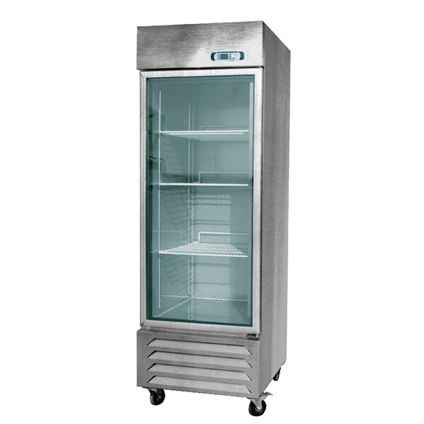 Commercial Glass Door Standing 21.1 cu. ft. Energy Star Counter Depth All-Refrigerator by EQ Kitchen Line