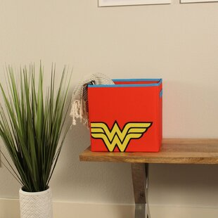 Comparison Wonder Woman for Toys Fabric Cube or Bin ByEverything Mary