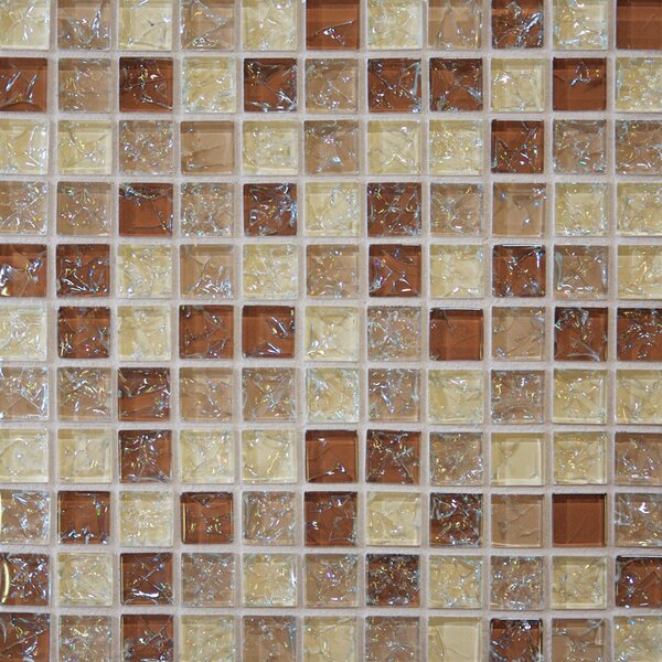 Staccato Mosaic Gloss Tile in Leather by Grayson Martin