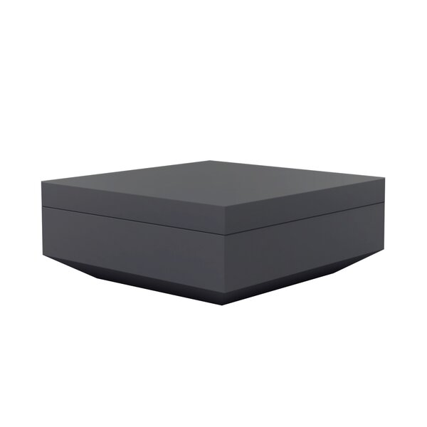 Vela Outdoor Ottoman by Vondom
