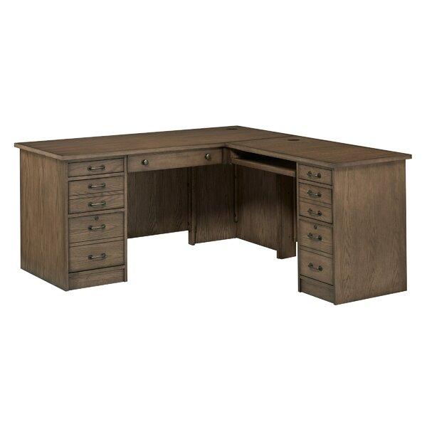 Gutshall L-Shape Executive Desk