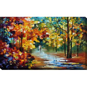 The Spirit Stroll by Leonid Afremov Painting Print on Wrapped Canvas by Picture Perfect International
