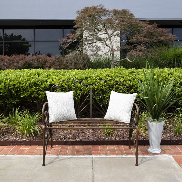 Landy Wide Park Bench by August Grove