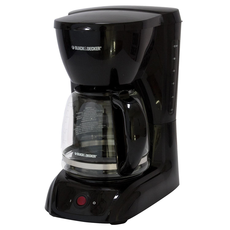 Black /& Decker 12-Cup Switch Coffee Maker CM1200B
