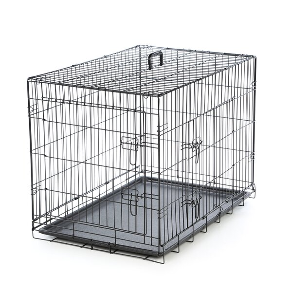 Foldable 2 Door Pet Crate by Timeless Crates