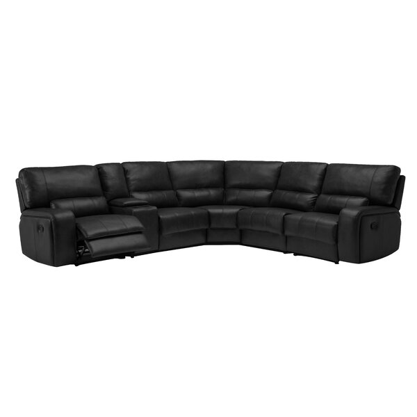 Trower Upholstered Power Reversible Reclining Sectional