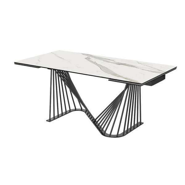 Imboden Extendable Dining Table by Orren Ellis