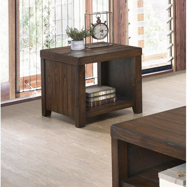 Liberty End Table by Millwood Pines