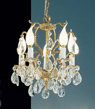 Barcelona 5-Light Candle Style Chandelier by Classic Lighting