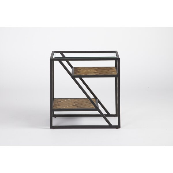 Stetson End Table by 17 Stories