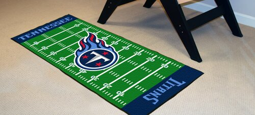 NFL - Tennessee Titans Football Field Runner by FANMATS