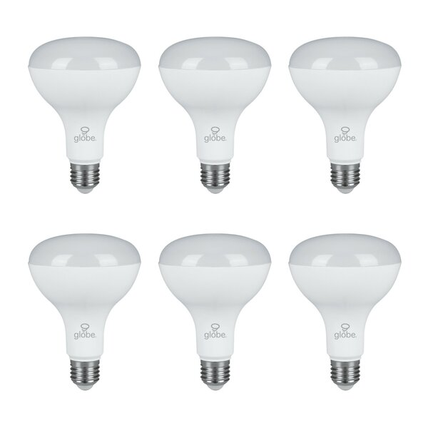 8W E26 LED Light Bulb Pack of 6 by Globe Electric Company