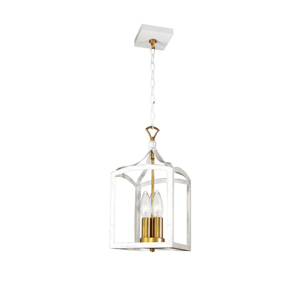 Kumail Transitional 3-Light LED Lantern Chandelier by House of Hampton