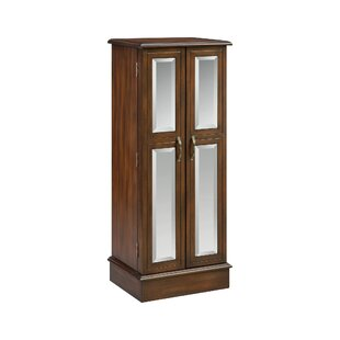 Shopping for Backsten Jewelry Armoire with Mirror By Darby Home Co