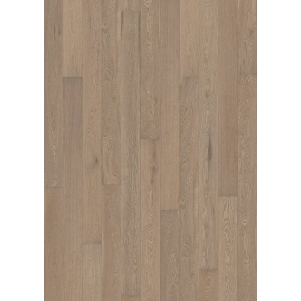 Canvas 5 Engineered Oak Hardwood Flooring in Chalk by Kahrs
