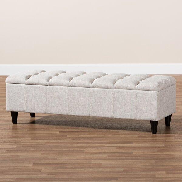 Knag Upholstered Flip Top Storage Bench