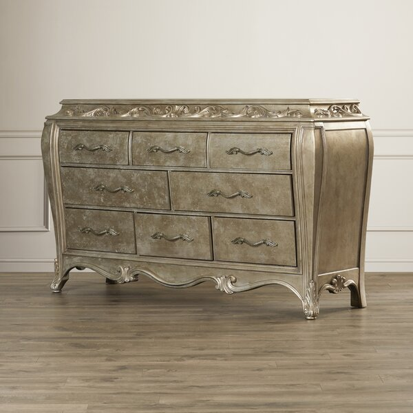 Holmes 8 Drawer Dresser by House of Hampton House of Hampton