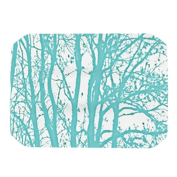 Mint Trees Placemat by KESS InHouse