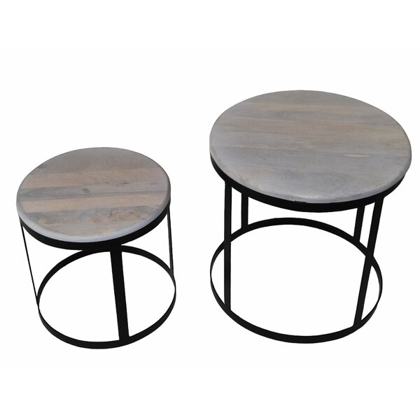 Outdoor Furniture Nordman 2 Piece Nesting Tables